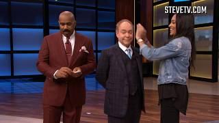 Penn & Teller Attempt Mind-Blowing Card Trick On Steve Harvey
