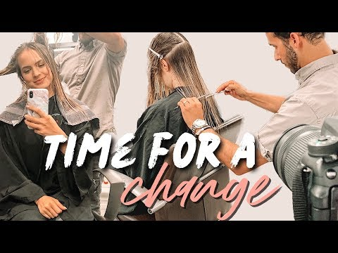 Cutting My Hair! It's Time for a Change!! - Kayley Melissa