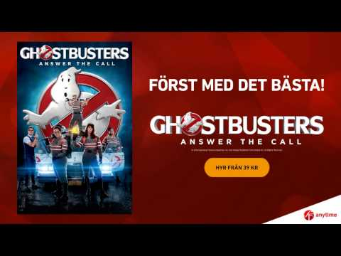 GHOSTBUSTERS - nu hos SF Anytime