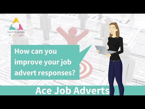 How to improve your job advert responses with Barclay Jones