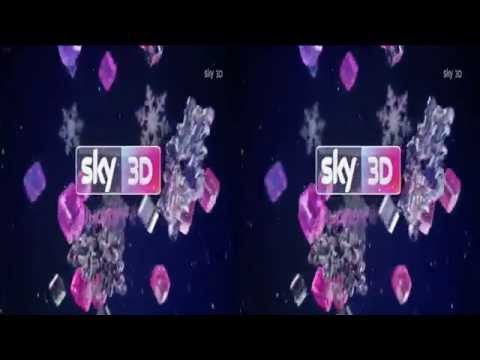 Sky 3D Italy - Christmas Ident/Advert/Continuity 2015 [King Of TV Sat]