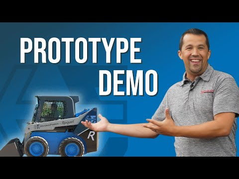 Prototype Skidsteer from HydraForce | A look into the future of machinery Picture
