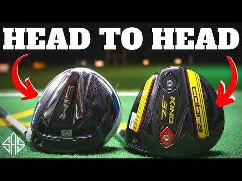 HEAD TO HEAD: 2020 TAYLORMADE SIM VS COBRA SZ DRIVER (RESULTS)