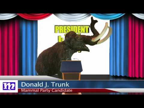 Mammoth's Speech   President of the Jungle 2017   MMNN Newsbreak   Many Miniatures Theater