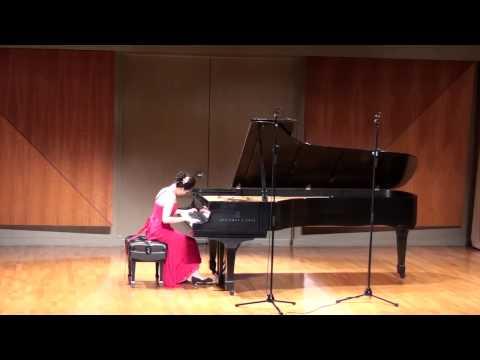 Leanna performs Franz Liszt: Episoden aus Lenaus Faust. Tanz in der Dorfschenke (Mephisto Waltz No. 1)