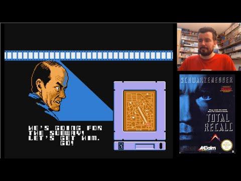 TOTAL RECALL / DESAFIO TOTAL (NES) - Gameplay en español || MORRALLA CLÁSICA