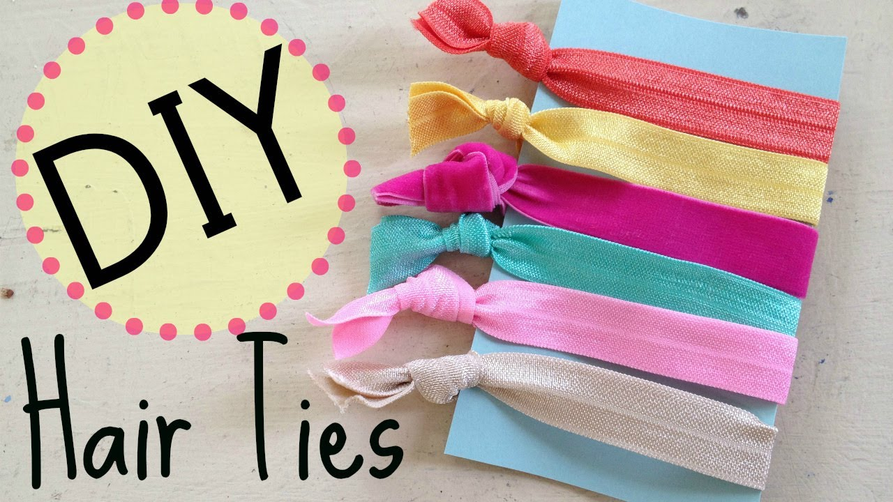 Diy Creasless Hair Ties No Sew By Michele Baratta