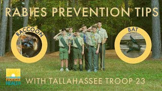 Rabies Prevention Tips featuring Tallahassee Troop 23