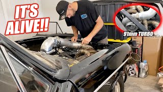 James' GIANT Turbo Nova Takes a Breath of Life!!! Sounds Freaking AWESOME!