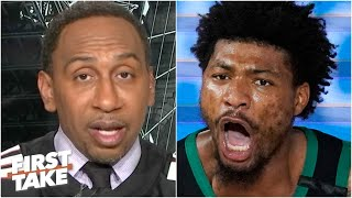 Stephen A. reacts to Heat vs. Celtics Game 2,  Marcus Smart's postgame frustrations | First Take