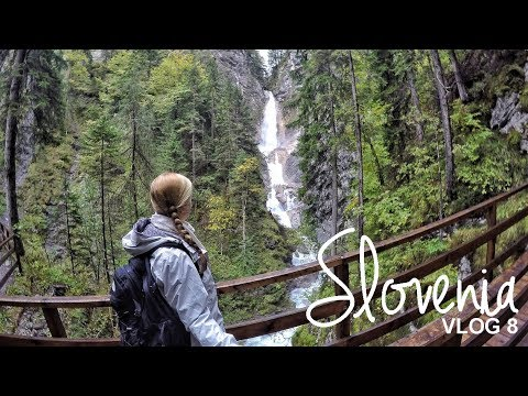 Slovenia: Slap Martuljek, Lake Jasna, Russian chapel | Vlog 08 | World Wanderista