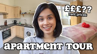 MY LONDON APARTMENT TOUR (apartment hunting + rent prices) | clickfortaz