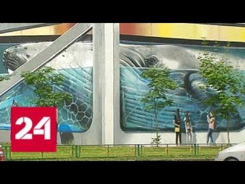 В Одинцове пройдет крупнейший в мире фестиваль граффити - Россия 24 photo