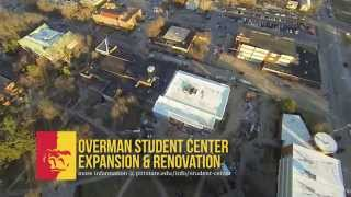'Overman Student Center Expansion & Renovation (aerial footage) - Pittsburg State University