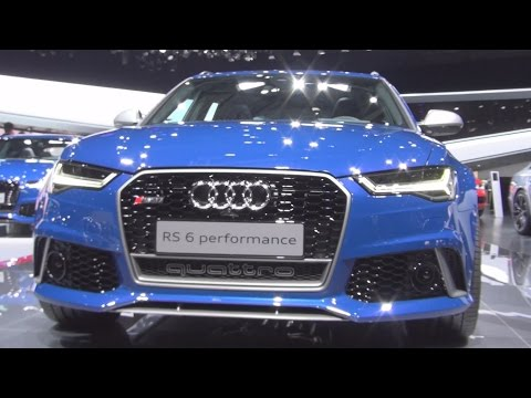 Audi RS 6 Performance (2016) Exterior and Interior in 3D