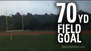 Donald De La Haye | 70-Yard Field Goal