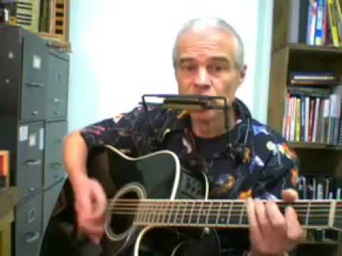 How to back up a harmonica with a guitar #1