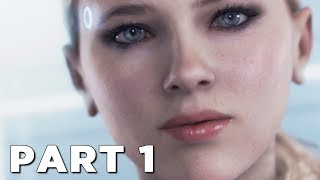DETROIT BECOME HUMAN Walkthrough Gameplay Part 1 - INTRO (PS4 Pro)