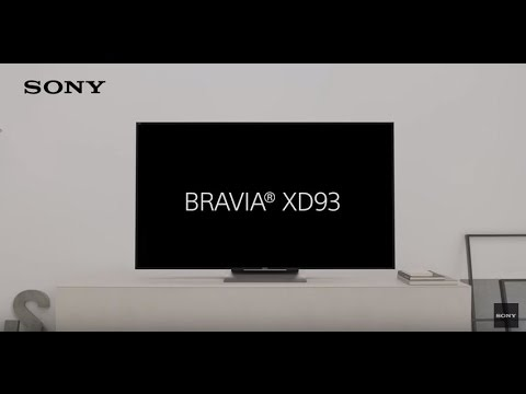 Nuevo televisor 4K HDR - BRAVIA XD93