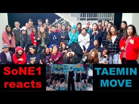 TAEMIN (태민) - MOVE M/V Reaction by SoNE1