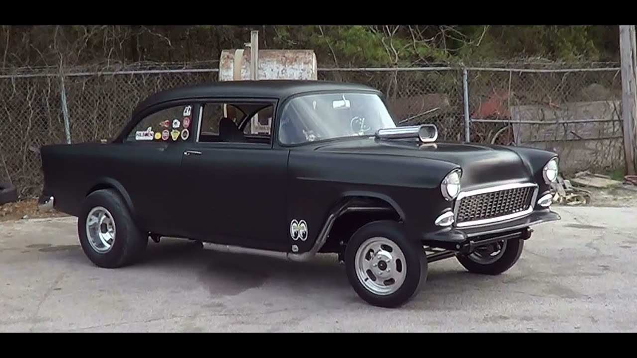 1955 Chevy Gasser Youtube
