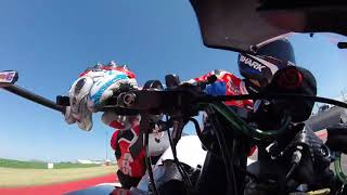 On board brake-cam with Scott Redding