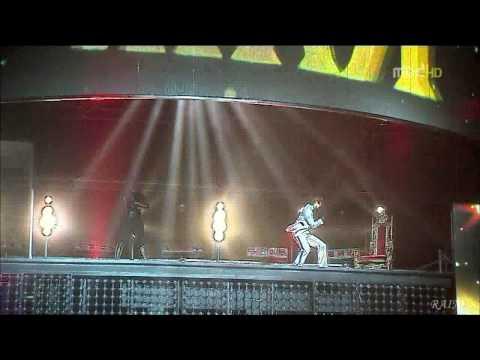 081231 MBC Festival-RAIN vs JYP