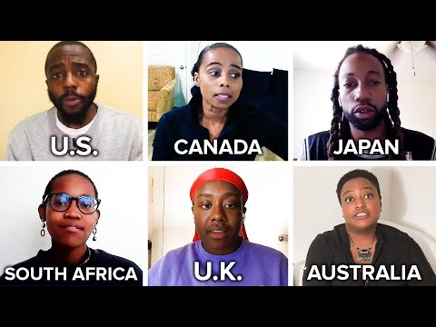 What It's Like To Grow Up Black Around The World