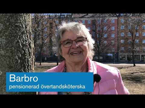 Barbro tandsköterska berättar om tandvårdsbåten Plomben Folktandvården Stockholm