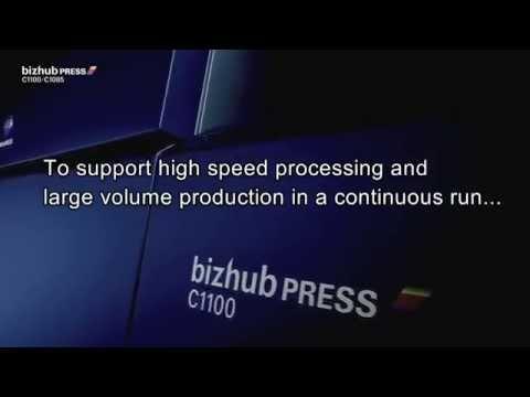 bizhub PRESS C1100 series