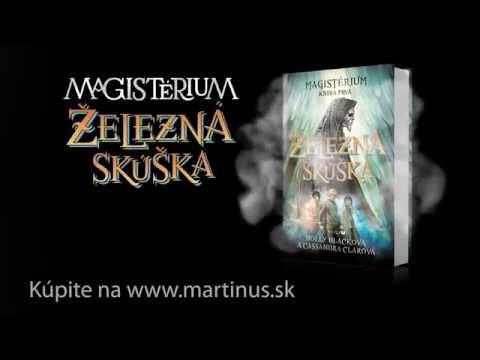 Knižný trailer ku knihe Magistérium: Železná skúška (Cassandra Clare, Holly Black)