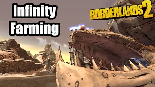 Borderlands 2: Infinity Farming with Sniper Zer0 at OP 8!
