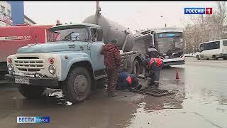Жертвами большой воды в Омске уже стали десятки улиц и домов