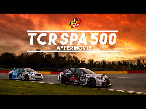 The official TCR SPA 500 Aftermovie