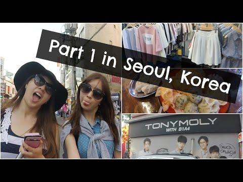 KOREA VLOG 1/3: Hongdae, Mandu, Shopping I TOMERCURYANDMARS