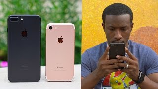 iPhone 7 vs 7 Plus - Day in the Life!