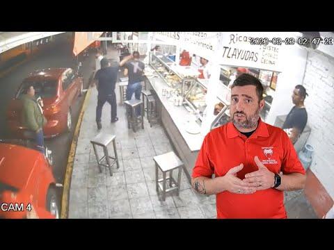 Dude In Mexico Starts Firing Shots
