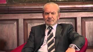 Lord Alan Sugar - Full Q&A