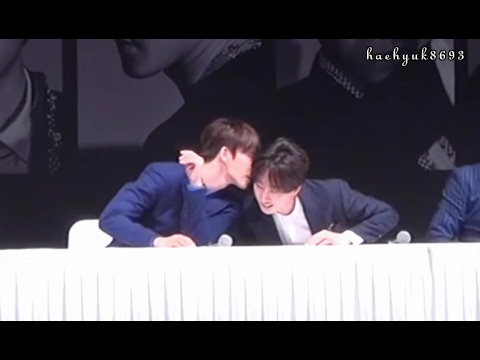 [PART 24] HaeHyuk/EunHae sweet moments - Devil press conference