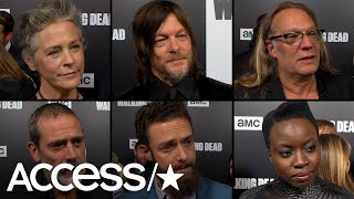 'The Walking Dead' Cast & Producers Discuss Saying Goodbye To Andrew Lincoln (And We're Not Ready!)