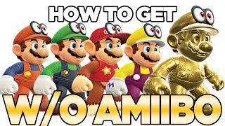 How to Get ALL Outfits WITHOUT AMIIBO in Super Mario Odyssey | Austin John Plays