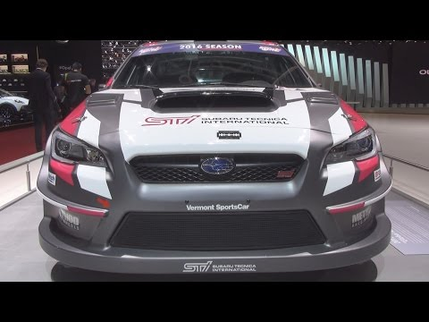 Subaru WRX STI for Global RallyCross Championship (2015) Exterior in 3D