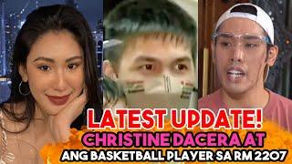 Valentine Rosales Nagsalita na!   Christine Dacera  Nagkagusto sa Basketball Player nasa RM 2207.