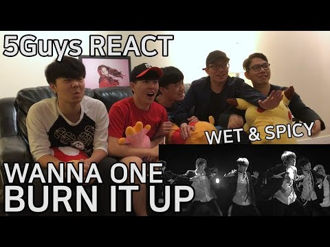 [TRASH FANBOYS] Wanna One (워너원) - Burn It Up (활활) 5Guys MV REACT