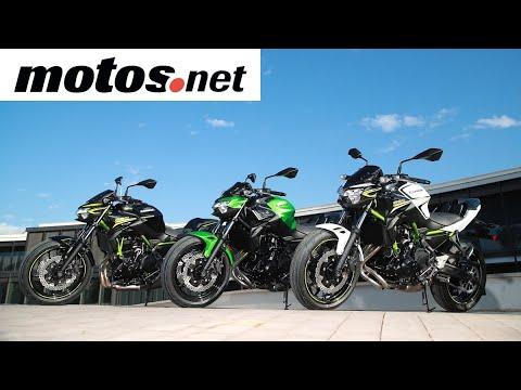 Kawasaki Z650 | Presentación / Primera prueba / Test / Preview en español HD