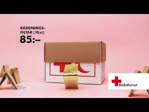 Röda Korset – Räddningsfiltar (10 st) 85 kr