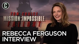 """Rebecca Ferguson Talks Mission: Impossible – Fallout, Tom Cruise and Plays """"Ice Breakers"""""""