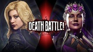 Black Canary VS Sindel (DC Comics VS Mortal Kombat) | DEATH BATTLE!