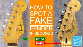 How to Spot a FAKE Fender in Seconds