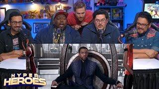 Marvel Studios' Black Panther - Rise TV Spot Reaction